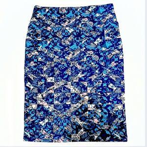 Lularoe Cassie Pencil Skirt Size Large